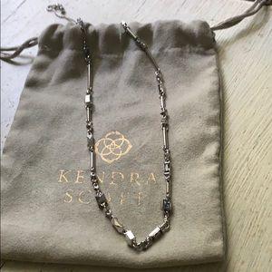 Kendra Scott Rhett necklace in rhodium